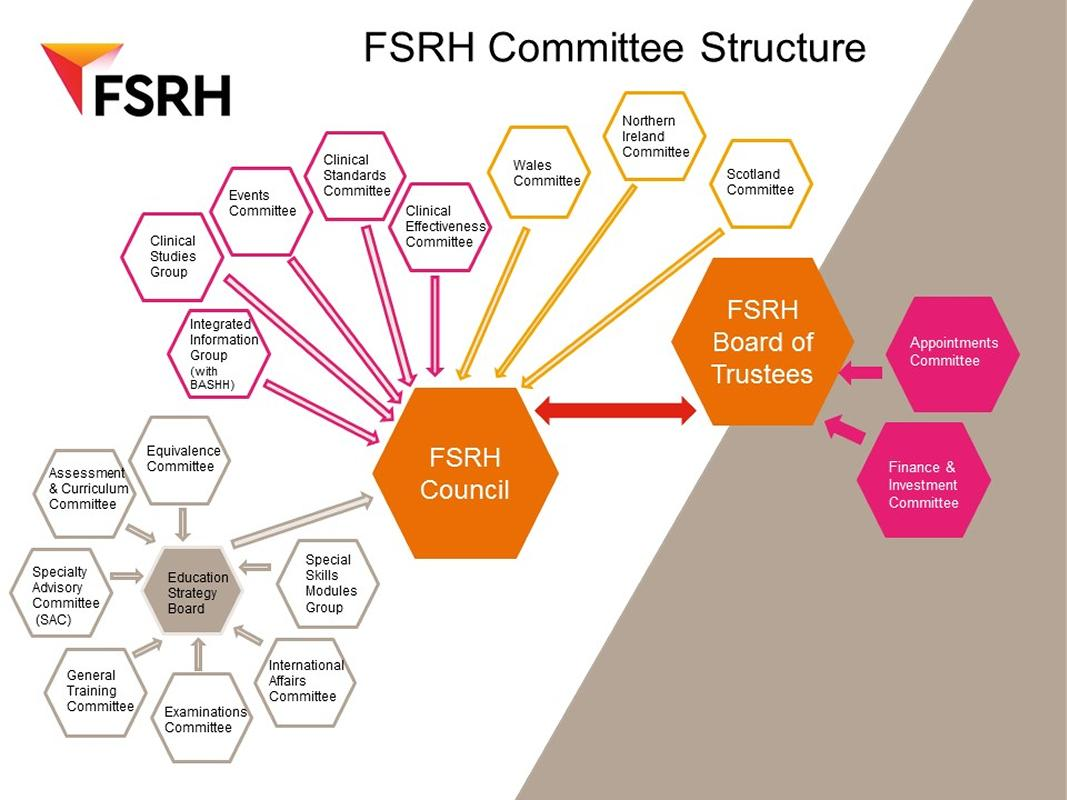 FSRH Committee Structure Diagram