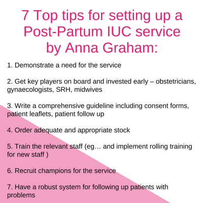 Anna Graham 7 top tips
