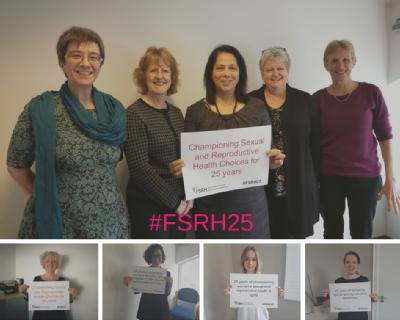 #FSRH25 Staff and Officers