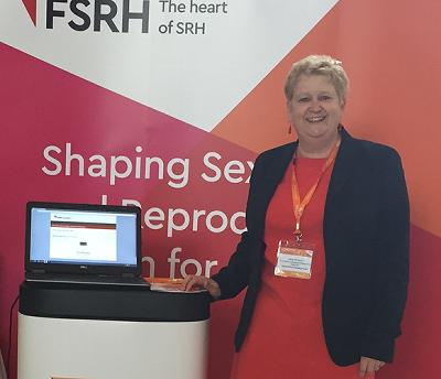Dr Jane Dickson Photo Officer FSRH