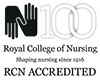 RCN accredited logo
