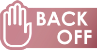Back Off Campaign Logo