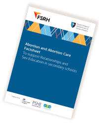 FSRH RCOG Abortion Care Factsheet Cover